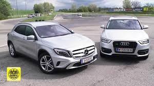 audi q3 vs gla neue autos im test mercedes gla vs audi q3