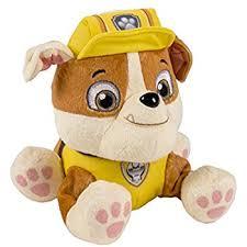 amazon nickelodeon paw patrol plush pup pals ryder toys