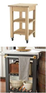 kitchen cart ideas the 25 coolest ikea hacks we ve seen portable kitchen