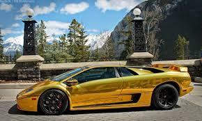 gold chrome lamborghini the gear shift modified ferrari f40 and lamborghini diablo