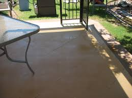 Patio Concrete Stain Ideas by Staining Concrete Patio And Deck U2014 Home Ideas Collection How To