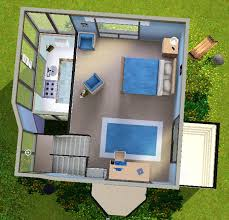 tiny modern home mod the sims small modern house