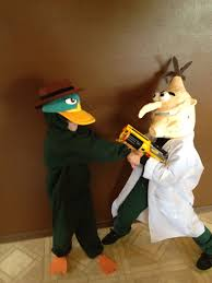perry the platypus halloween costume phineas u0026 ferb costumes halloween pinterest costumes
