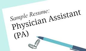 Physician Assistant Student Resume Physician Assistant Sample Resume For Job Seekers Melnic