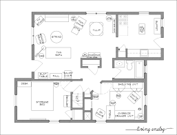 Floor Plan Blueprints Free Home Layout
