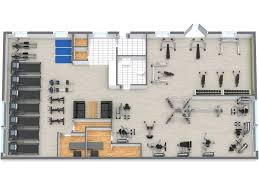 conceptdraw samples building plans u2013 gym and spa area plans