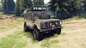 kahn land rover defender 110 land rover for spintires download for free