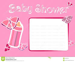 Invitations Cards Free Baby Shower Invitation Card Stock Illustration Image 43836078