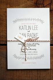 Rustic Wedding Invites 22 Ideas De Invitaciones Rusticas Y Originales Para Bodas Snail