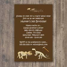 dinosaur birthday party invitation wording alanarasbach com