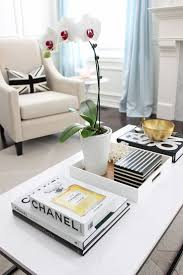 vignette home decor coffee table spring coffee table vignette stonegable gold tray