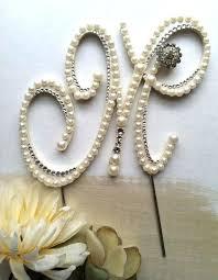 pearl cake topper cake topper letter abundantlifestyle club
