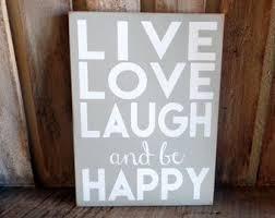 live laugh love wood etsy