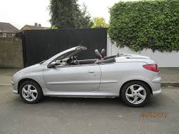 peugeot 206 cc 1 6 petrol manual silver a c 9 mts mot in bromley