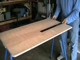 Portable Shooting Bench Building Plans Build Your Own Shooting Bench Youtube