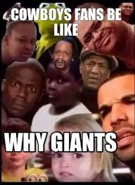 Cowboys Fans Be Like Meme - meme creator giant s haters be like meme generator at memecreator org