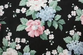 dark vintage wallpaper vintage wallpaper bold floral on black farm house places to visit