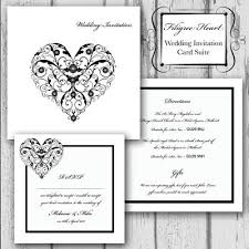 diy wedding invitations templates heart wedding invitation templates
