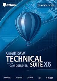 corel designer technical suite coreldraw technical suite x6 education edition