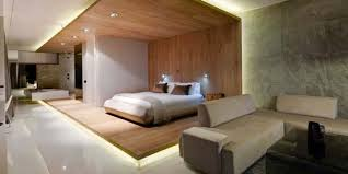 modern bedroom of pod boutique hotel in south africa featuring