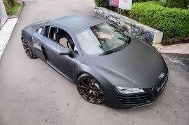 Audi R8 Matte Black - audi r8 by vilnertuningcult