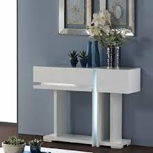 white console table with drawers nicoli console table in white high gloss with 2 drawers tbd82