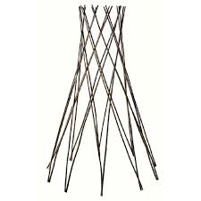 westminster willow obelisk for plant climbing assorted the warehouse