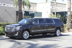 cadillac escalade 2017 custom limousine for sale 2017 cadillac escalade esv in ontario ca