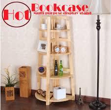Kitchen Bookcases Oak 100 Solid Wood Cabinets Bookcase Corner Shelf Kitchen