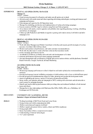 sample of executive resume ad operations manager resume samples velvet jobs