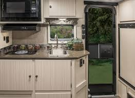 Trailer Kitchen Cabinets Camplite Cl16tbs Ultra Lightweight Travel Trailer Floorplan