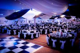 evening outdoor wedding decoration decorating of party masquerade