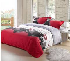 mickey mouse end table red and gray disney mickey mouse full size bedspreads and comforters