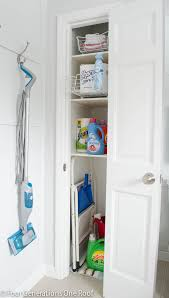 Broom Cabinet Ikea Small Utility Closet Organization Roselawnlutheran