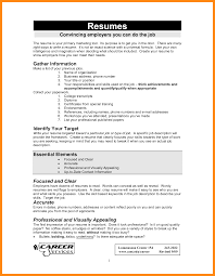 how to do a resume paper for a job how to write a job resume