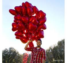 heart balloon bouquet s day balloons ideas party city party city