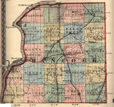 Il County Map Hancock County Illinois Maps And Gazetteers