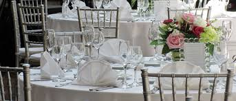 wedding tables and chairs for rent glassware table stemware av party rental