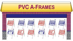 a frames for sale pvc open house a frames