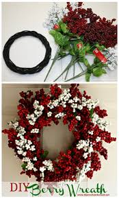 that u0027s what che said diy berry wreath that u0027s what che