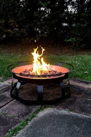 outdoor portable propane fire pits with high btu rating outdoor
