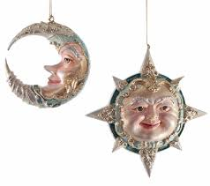 katherine s collection ornament celestial sun or moon home page