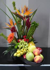 flowers and fruits 95 best artificial fruit and flower arrangement ideas images on
