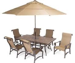 stunning x travertine stone table carlsbad sling aluminum patio