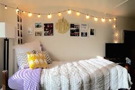 dorm room string lights dorm room ideas steal the styles of these dreamy dorm rooms string
