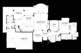 Home Floor Plans Mn Mascord House Plan 1407 The Springbrook