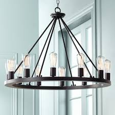 Black Chandelier Dining Room 28 Wide Black Chandelier