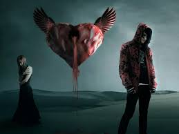quotes heart bleeding boy and break up heart blood wallpaper images photos pictures
