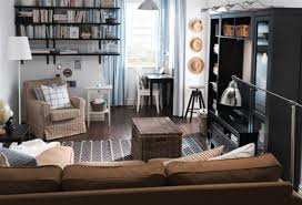 furniture sectional sofa and storage wicker ottoman with tv wall