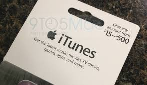 15 gift cards apple rolling out new itunes gift cards with load amounts